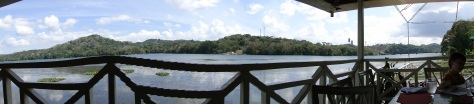 Lake Gamboa from Restaurant, Panama