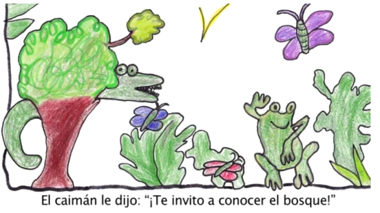 The Frog and the Caiman by Coco Solo page 2, Panama