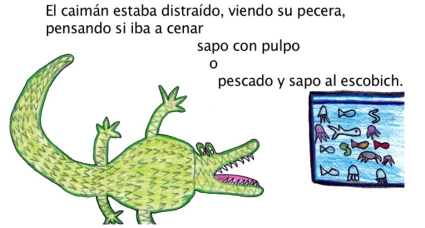 The Frog and the Caiman by Coco Solo7