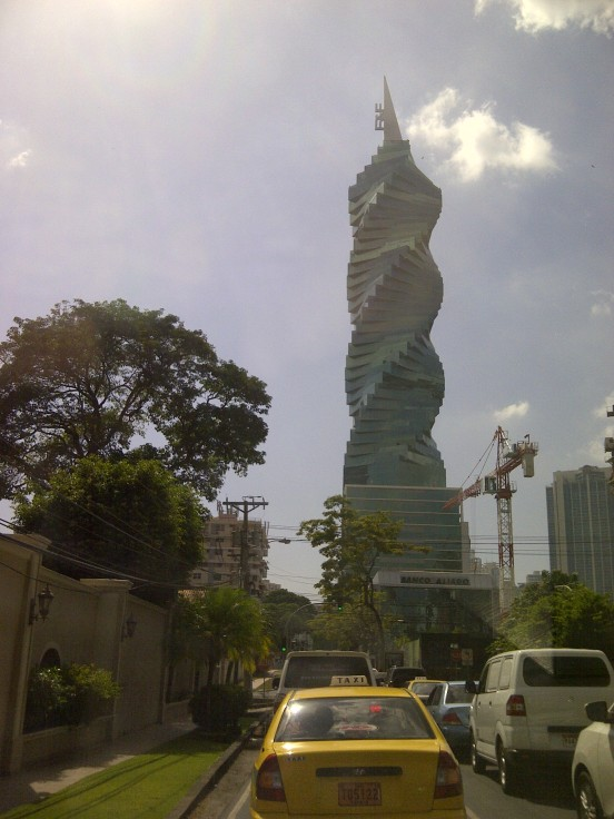 Twisty Tower, Calle 50, Panama